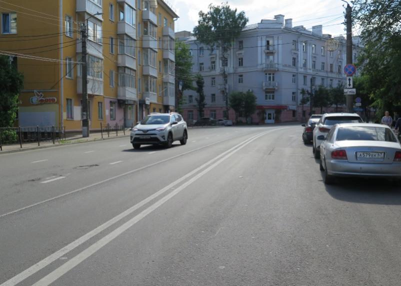 В центре Смоленска изменили схему движения транспорта