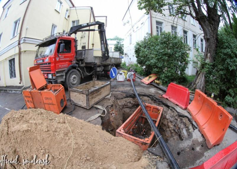 В Смоленске продолжается подготовка к зиме