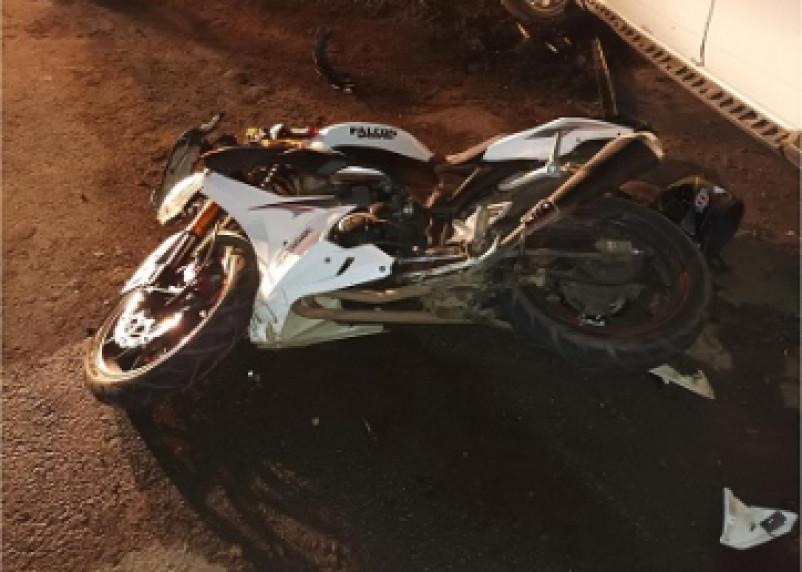 В Сафонове водитель мотоцикла попал в ДТП. Два человека госпитализированы