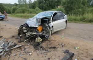 В Сафоновском районе в ДТП с двумя иномарками пострадал человек