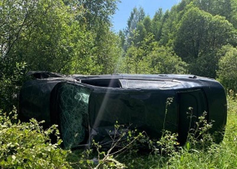Водитель погиб на месте в аварии в районе Хмелиты