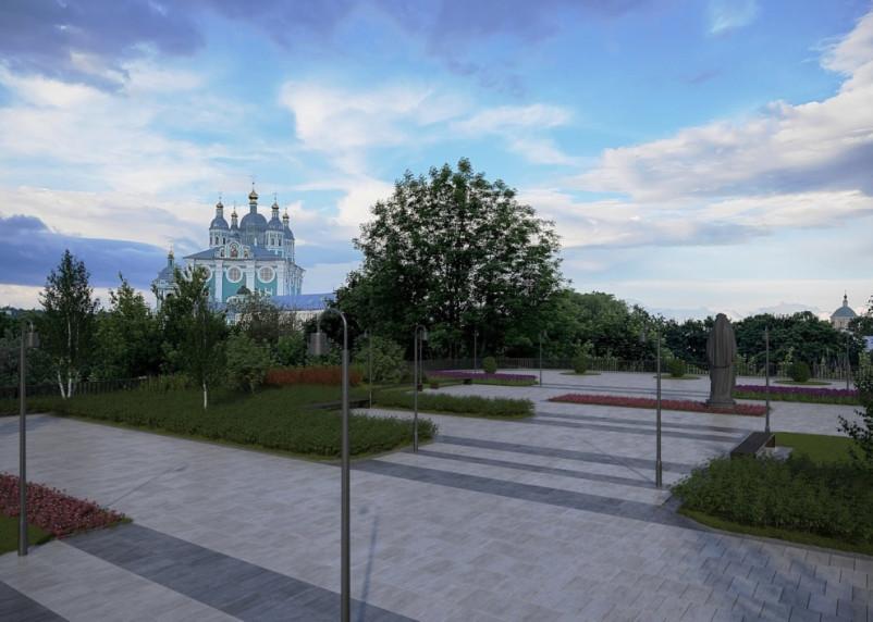В историческом центре Смоленска предложили создать Патриарший сквер