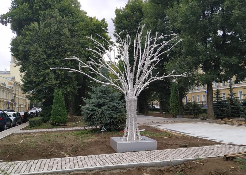 В сквере имени Клименко установят светодиодное дерево