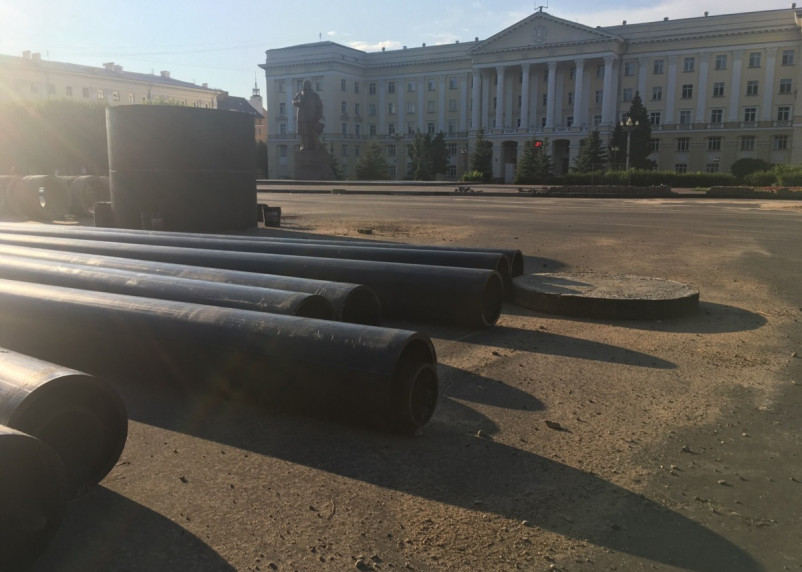 В Смоленске на пяти улицах отключат горячую воду до конца лета