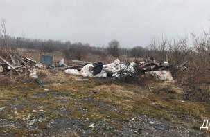 В Кардымовском районе ликвидировали несанкционированные свалки