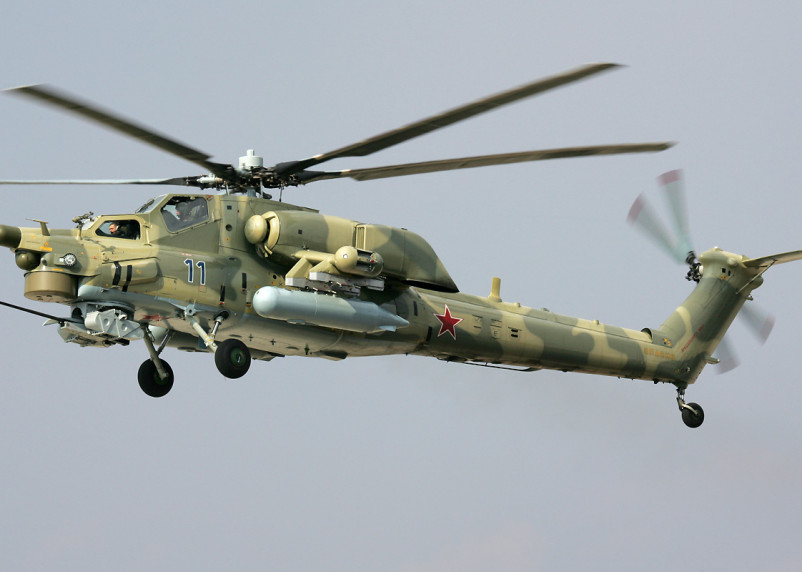 Гасите свет. В Смоленской области ночью летали военные вертолеты