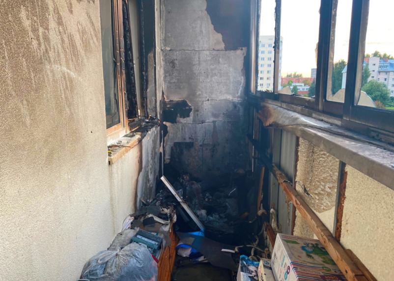 В Десногорске подростки предотвратили серьезный пожар
