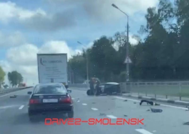 В Смоленской области произошло жесткое ДТП