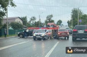 В Заднепровском районе Смоленска произошло еще одно ДТП с пострадавшим