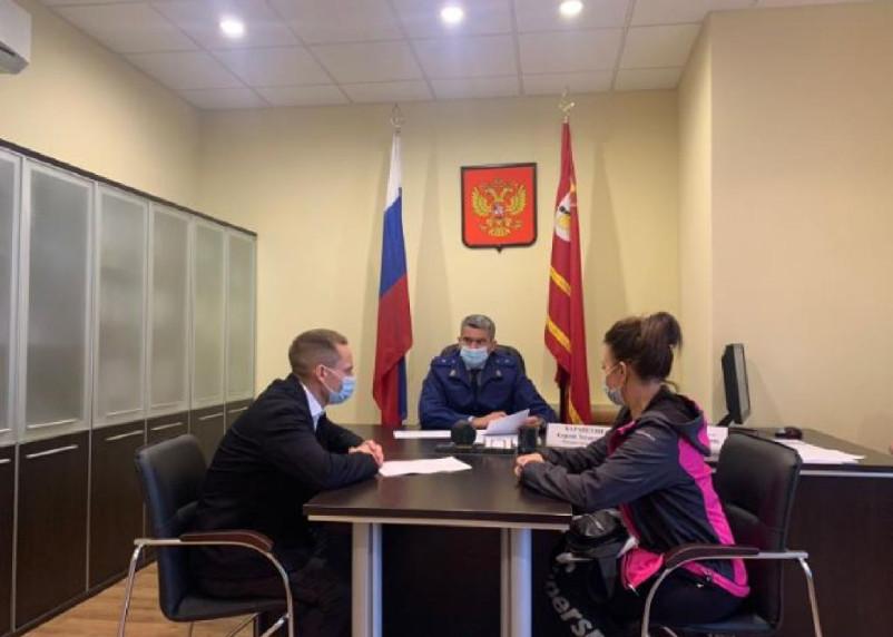 Прокурор Смоленской области провел прием граждан в региональной приемной президента России