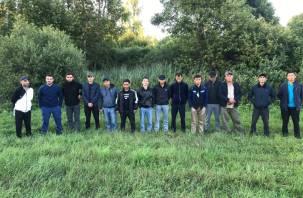 Смоленские пограничники задержали сирийцев, египтянина и азиатов, которые пытались нелегально пробраться в Россию