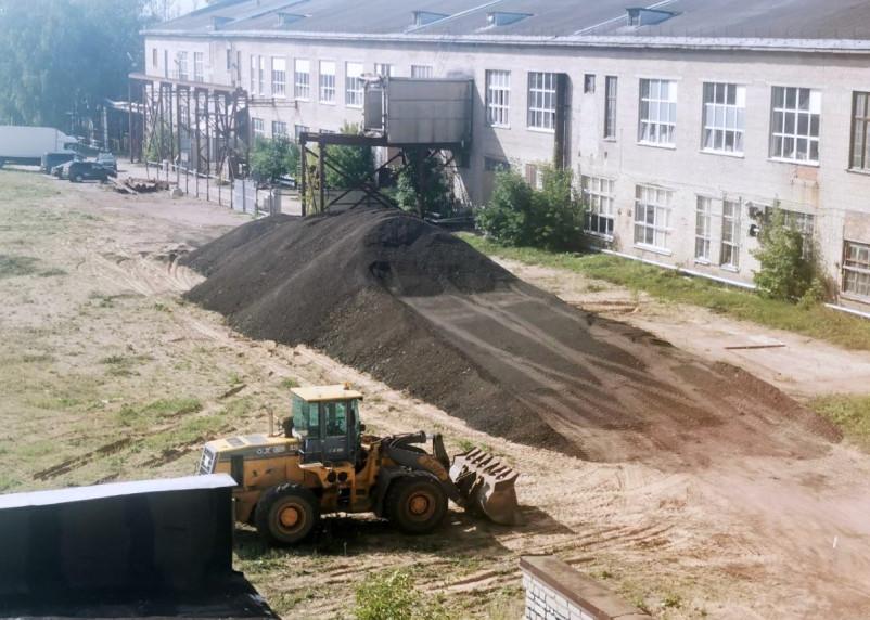 В Смоленске нашли применение площадке сгоревшего корпуса фабрики «Шарм»