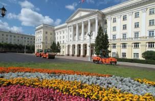 Укладка асфальта в центре Смоленска вышла на финишную прямую. Фоторепортаж Smolnarod