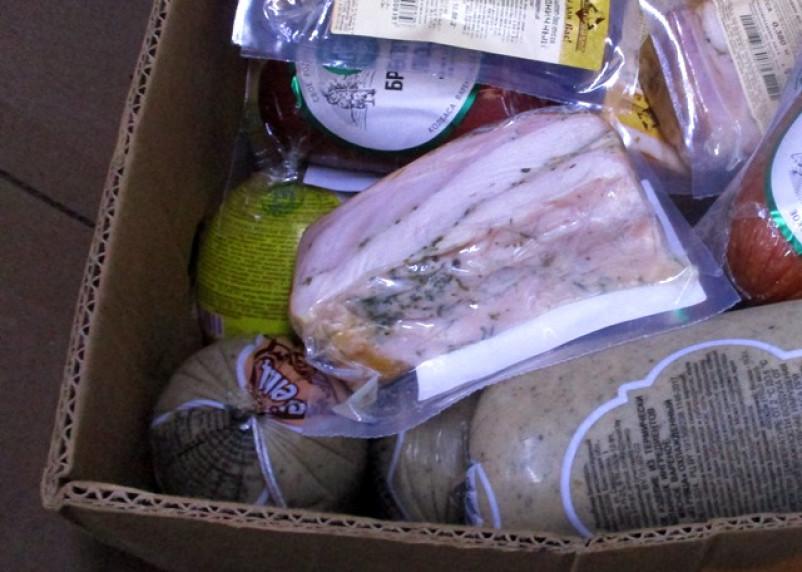 В Беларусь вернули около 300 кг мясной и молочной продукции, ввезенной в Смоленскую область без документов