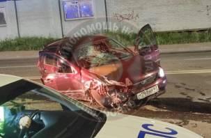 «Пьянство за рулем до добра не доводит». Жесткое ДТП произошло ночью в Смоленске