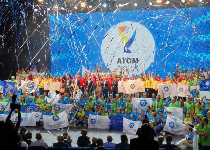 Работники Смоленской АЭС завоевали два золота и серебро на AtomSkills-2021