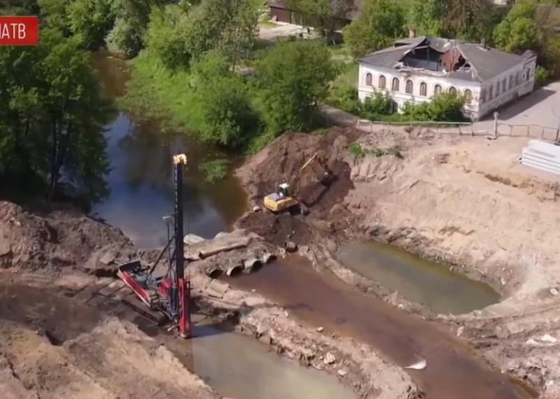 В Вязьме решили расторгнуть контракт на капитальный ремонт моста