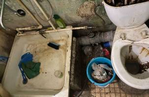МВД начало проверку по умирающим от голода инвалидам в запертой квартире в Смоленске