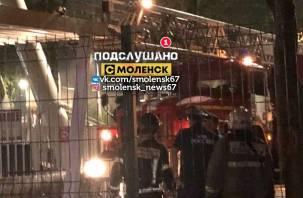 Чертово колесо в Смоленске остановилось. МЧС снимало людей
