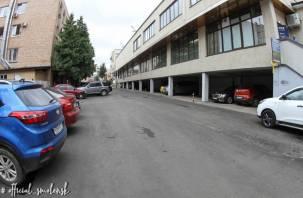 В Смоленске отремонтировали «прифронтовой» проезд возле «Центрума»