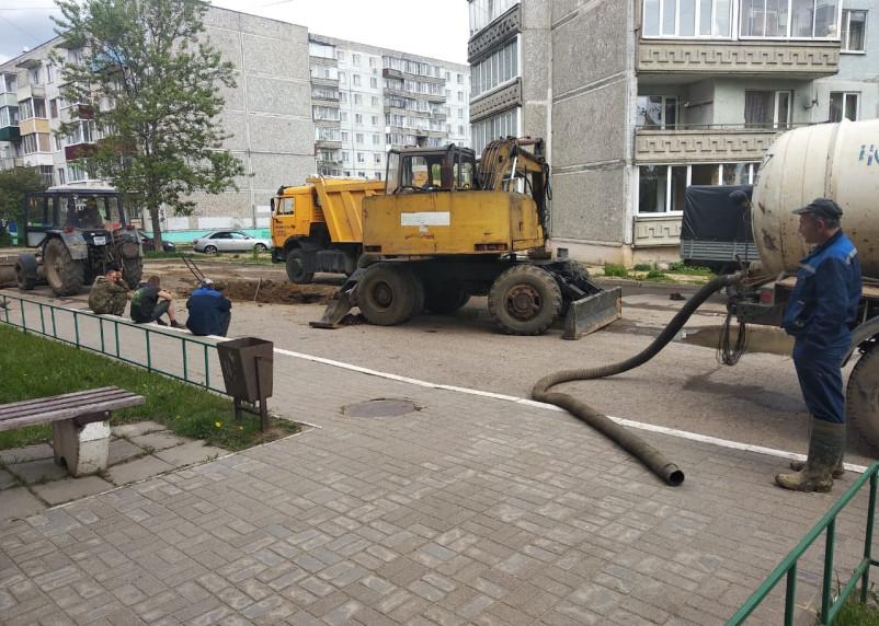 В Смоленской области без холодной воды останутся почти 55 тысяч человек вечером 28 августа