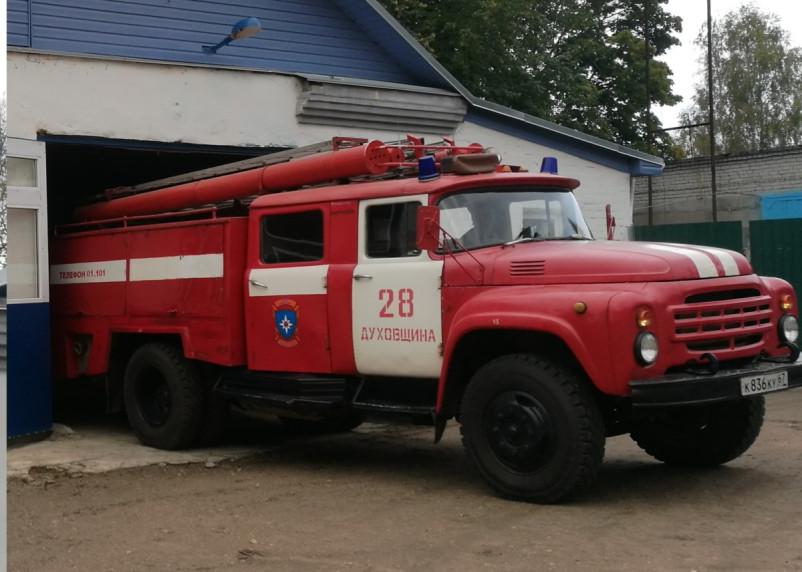 В Смоленской области 28 августа произошел еще один пожар в гараже