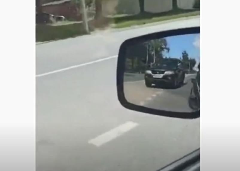 Пьяный водитель попался на видео в Смоленске