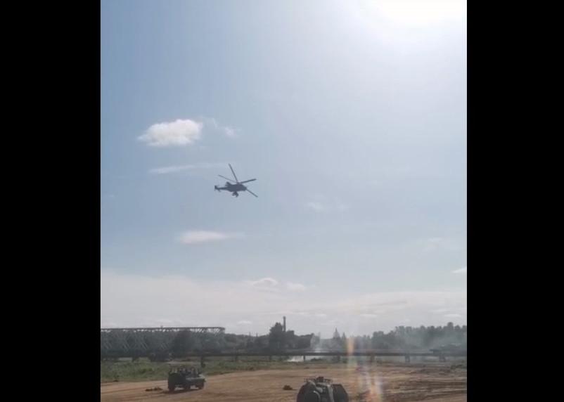 Взрывы и масса военной техники замечены в Смоленской области