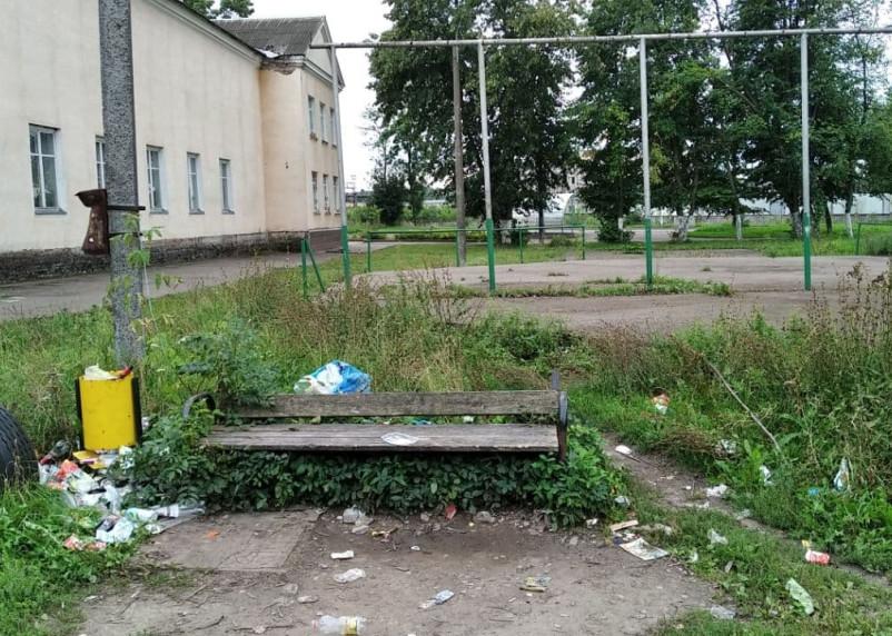 Мусорное притяжение. Смоленские власти забросили уборку отходов в будущем сквере