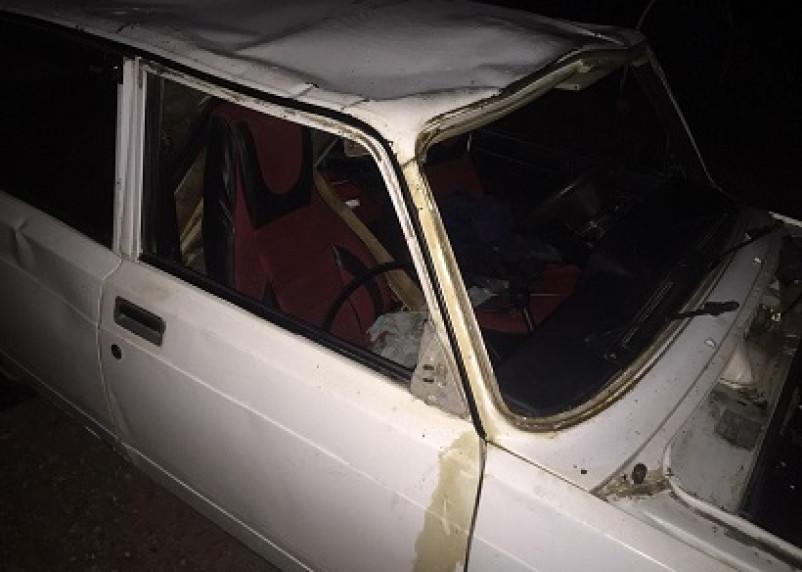 В Кардымовском районе в ДТП пострадал пассажир опрокинувшегося ВАЗа