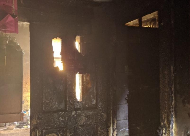 В Смоленске загорелась квартира в девятиэтажке