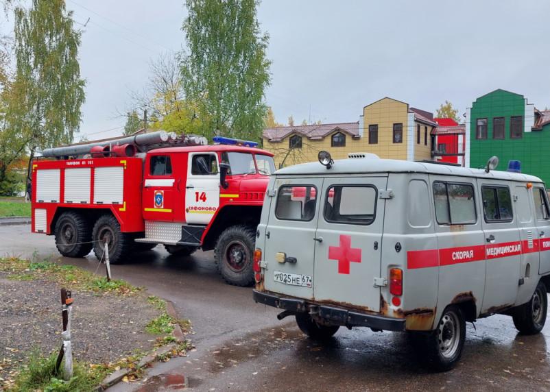 В Сафонове при пожаре в квартире погибла пенсионерка