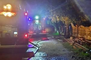 В Серебрянке сгорела котельная в жилом доме