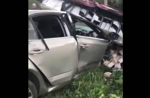 Смолянин погиб, столкнувшись на авто со стелой Дорогобужского района