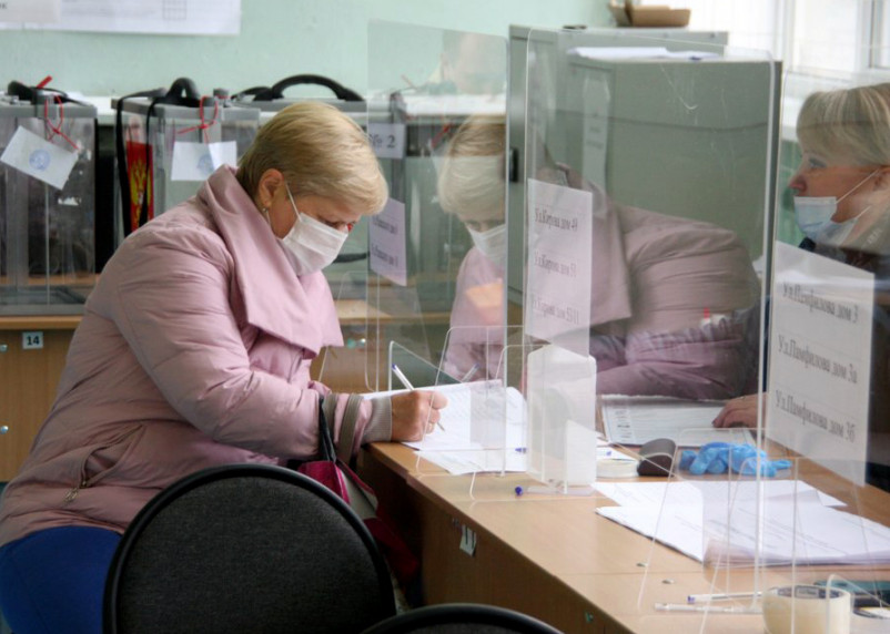 В Смоленской области начался третий день голосования