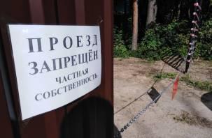 Дорога к дому за чужим забором. В Нижней Дубровенке идёт борьба за право проехать к жилью