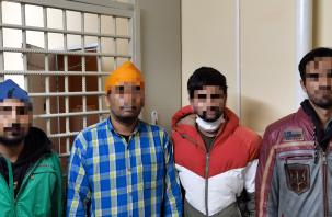 Четыре гражданина Индии задержаны в Смоленской области