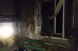 Во время пожара погиб мужчина