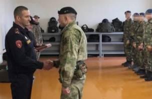 Бойцы Росгвардии вернулись на Смоленщину из служебной командировки