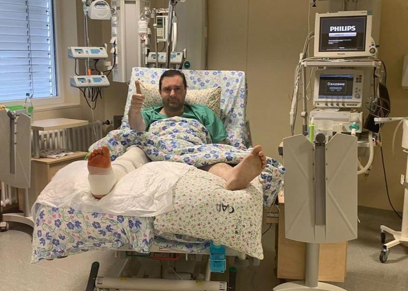 Губернатор Смоленской области опубликовал фото из больничной палаты