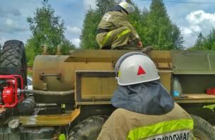 Добровольцы на огненной черте