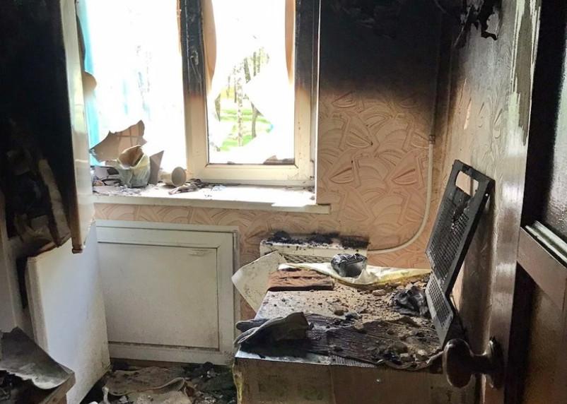 В Верхнеднепровском загорелась квартира жилого дома