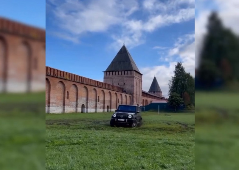 Могут повторить. «Культурный» отдых смолян у крепостной стены попал на видео