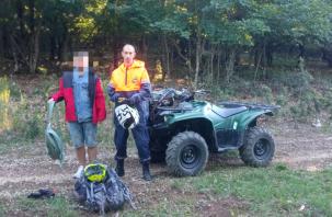 Смоленский турист ночью заблудился в горах в Крыму