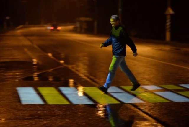 Как работают проекционные пешеходные переходы в Смоленске?