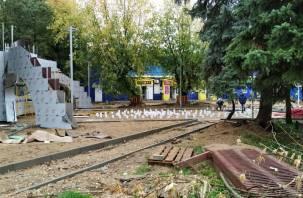 В Смоленской области срывают сроки благоустройства очередного сквера?