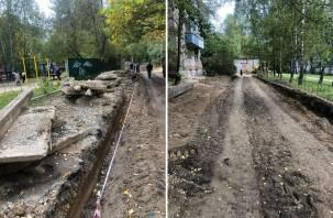 Проезд, или проход? На улице Соколовского возникли серьезные проблемы с ремонтом дороги