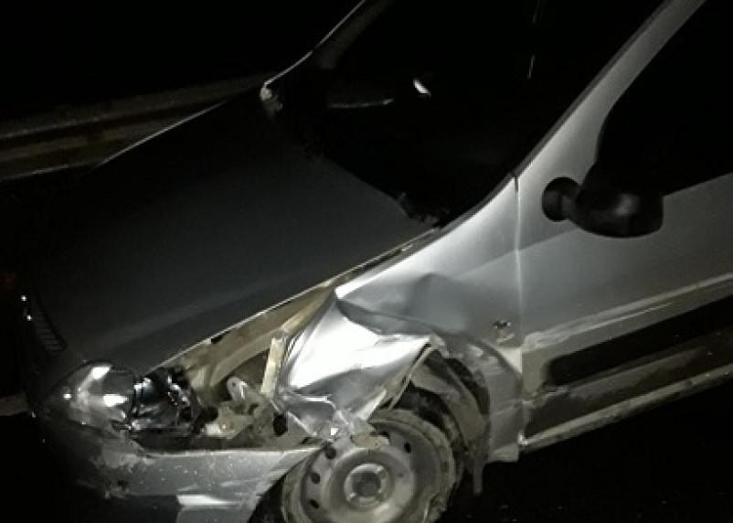 В Смоленском районе в результате ДТП пострадал пассажир автомобиля