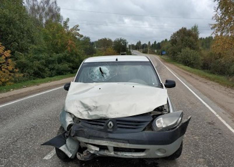 В Смоленском районе в ДТП пострадал пассажир