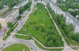 Зеленую зону на проспекте Строителей в Смоленске сделают рекреационной